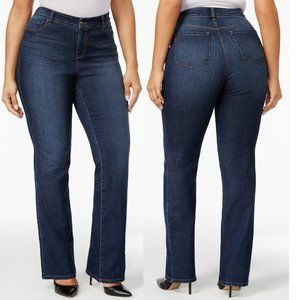 Style & Co Plus Size Tummy-Control Bootcut Jeans